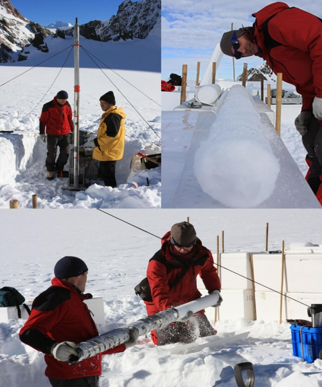 Souther Alps Ice Coring Exp 2009