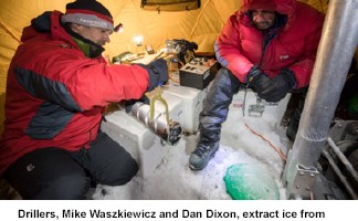 Quelccaya Ice Core Drillers