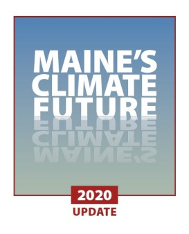 Cover page for Maine's Climate Future - 2020 Update