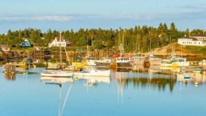 Photo of Maine harbor
