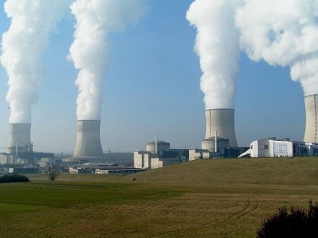 Nuclear power plant in Cattenom, France