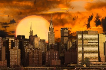 large sun city climate apocalypse disaster