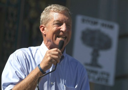 tom steyer rally