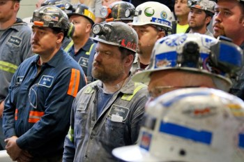 coal miners meet