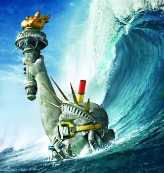 disaster movie statue libery underwater