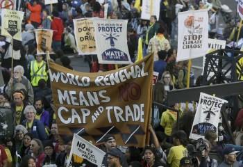 climate march protest alarmists