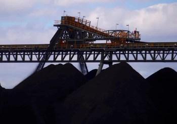 coal mine pile