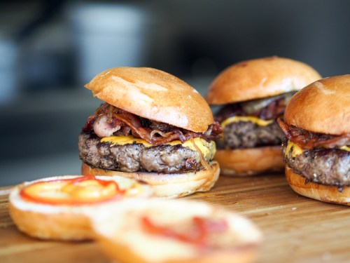 meat hamburger beef