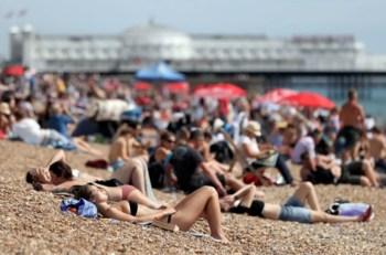summer beach heat