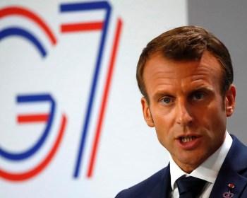 macron g7 2019