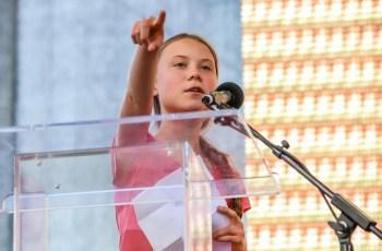 Greta Thunberg NYC