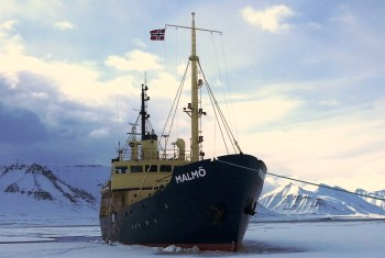MS Malmo in ice