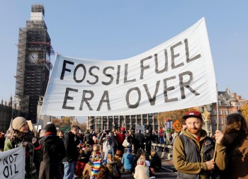 fossil fuel protesters