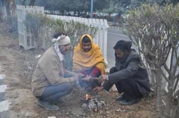 Delhi India record cold