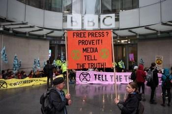 extinction rebellion bbc