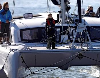 greta ocean-racing yacht