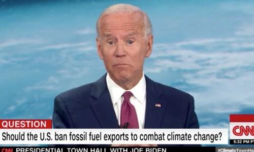 joe biden cnn climate town hall