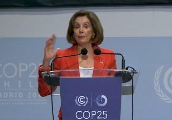 pelosi madrid climate summit