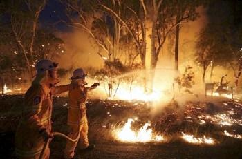 australia fire nsw