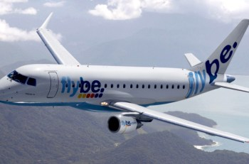 flybe airplane