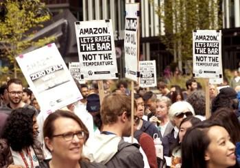 amazon employee walkout