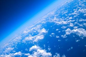 upper atmosphere sky clouds