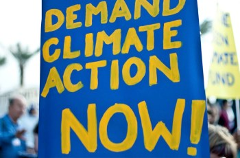 demand climate action