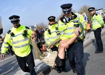 xr climate protest arrest