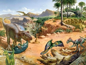 earth 150m years ago