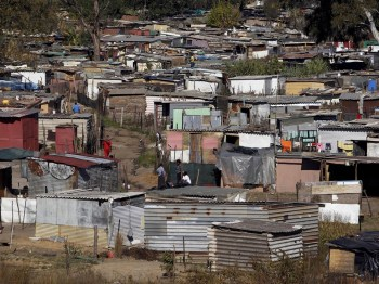 south african poor
