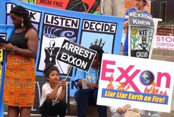 exxonknew rally