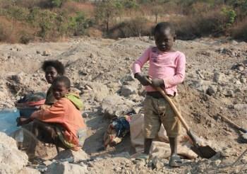 congo children miners