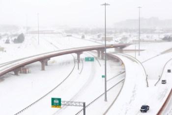 snow texas