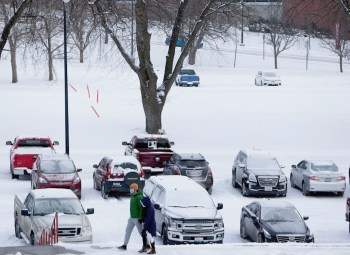 texas snowstorm