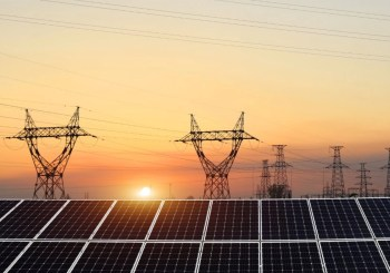 power lines solar
