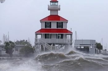 hurricane ida shore