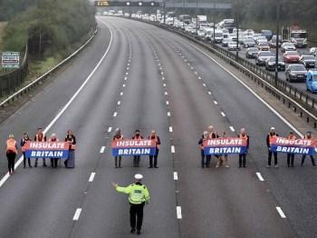 motorway protest insulate britain