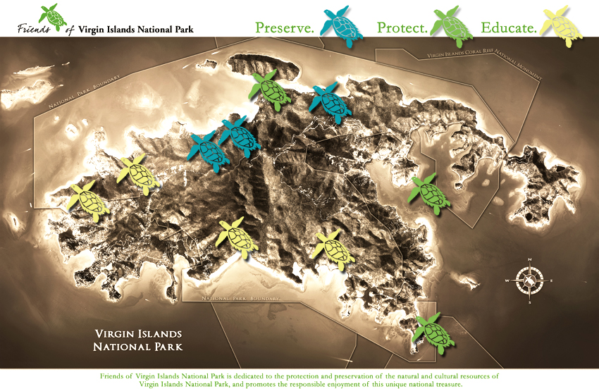 Park friends of national the islands virgin