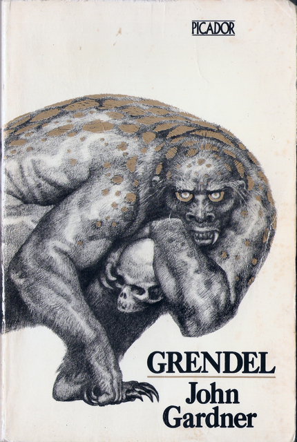 Book cover for Grendel by John Gardner
