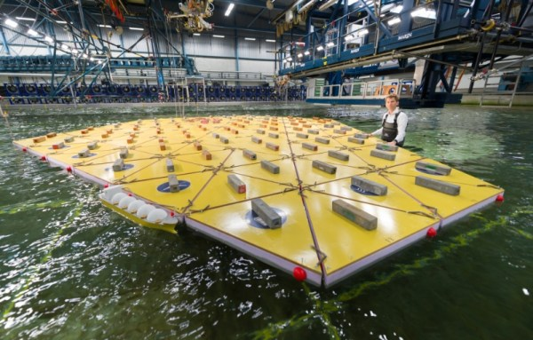 Floating island: The Maritime Research Institute