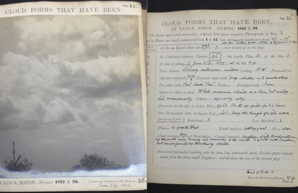 Clouds: Pages from Charles Piazzi Smyth's 'Cloud Forms ...'