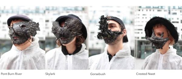 Pont Valley masks. Image: Art Rise Up