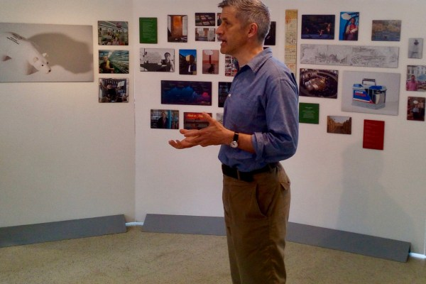 Professor Joe Smith, Stories of Change Principal Investigator, speaking at Culture and Climate Change, June 2018