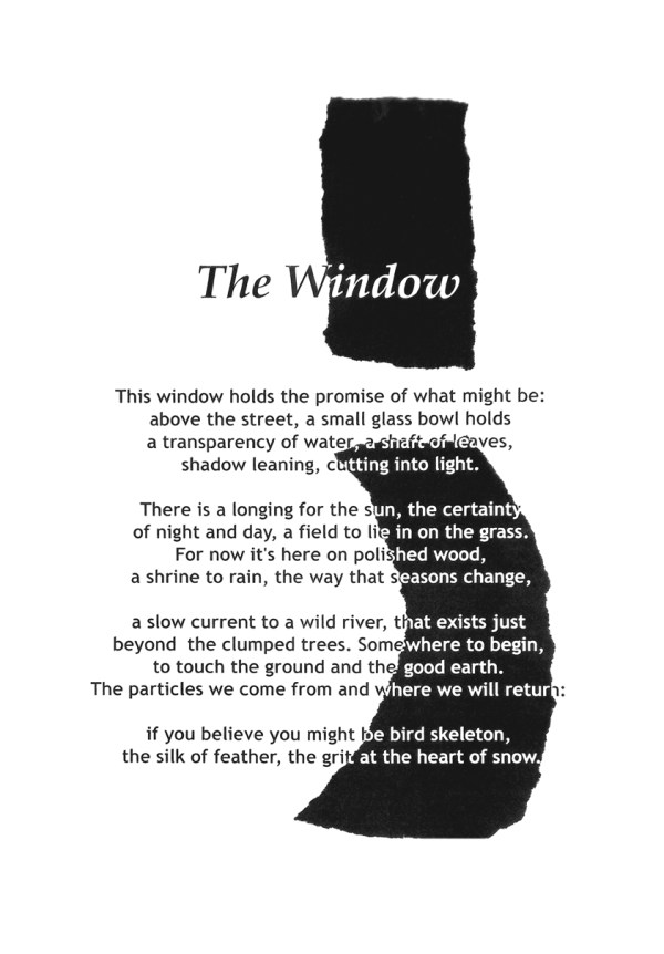 The Window. Text: Clare Crossman © 2016; Illustration: Victor Ibanez