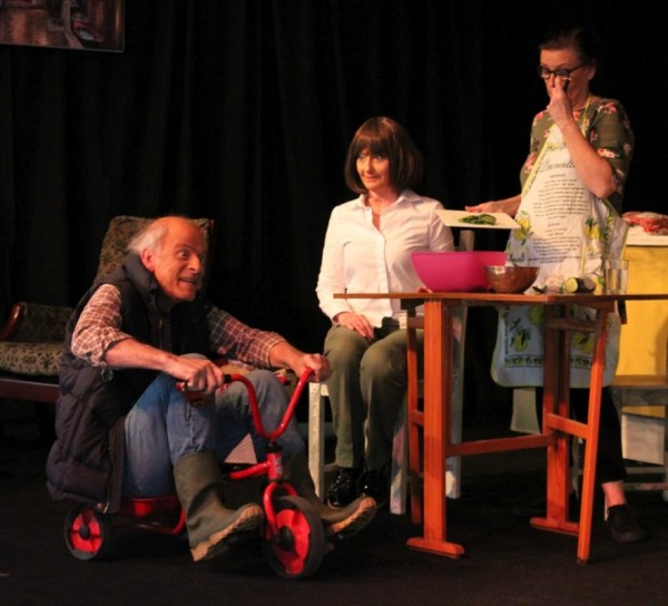 Play - showing Robin, Hazel & Rose. Photograph byThomas Cobb