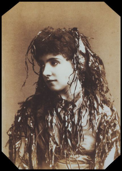electric performance: showing Jessie Bond as Iolanthe in 1882