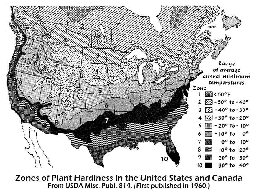 Hardiness Zones Have Shifted North Climate Change is Here