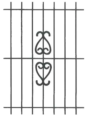 Climateguard Wrought Iron Window Guards Made In Chicago