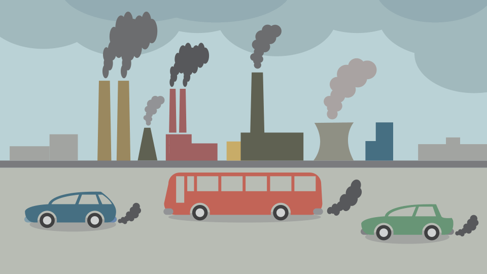 what causes air pollution