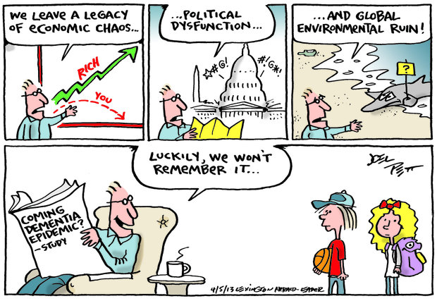 Comic by Joel Pett - 5 April 2013